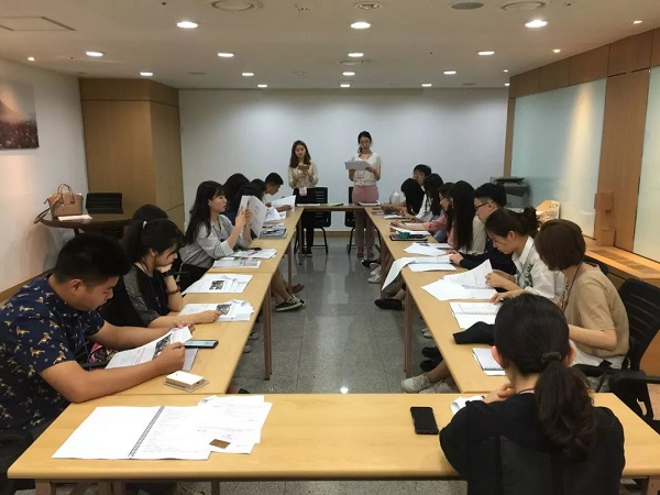 2018 Project of Inviting Foreign University Newspaper Reporter