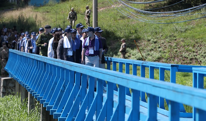 DMZ Peace Tour with the Diplomatic Corps